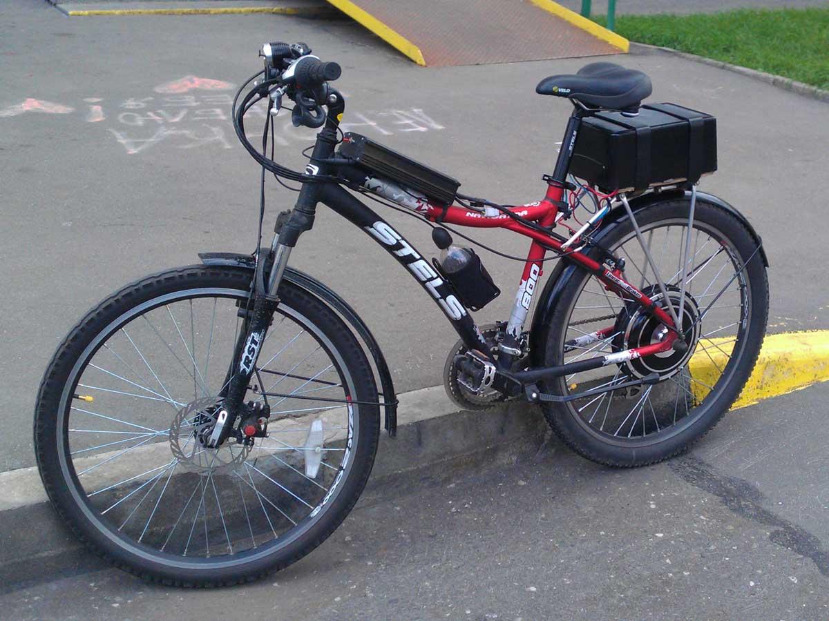 Электровелосипед своими руками / DIY или Сделай Сам ...