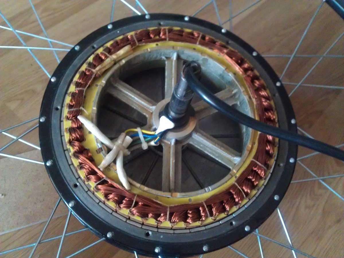 Как сделать мотор-колес